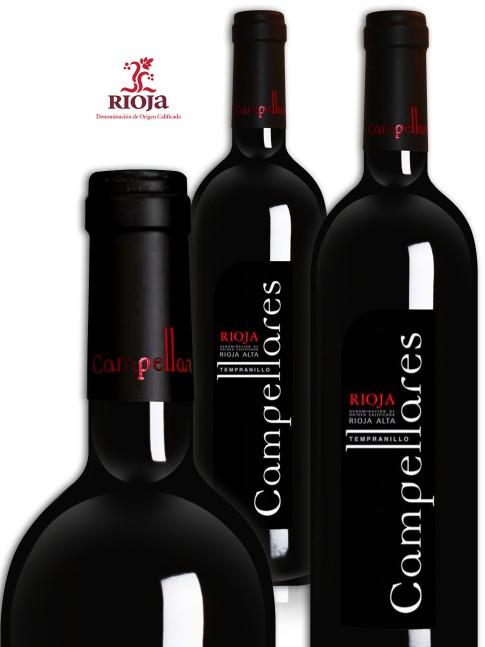 Vino de Rioja Campellares Tinto