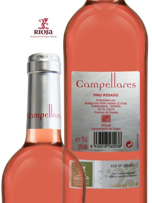 Vino de Rioja Campellares Rosado