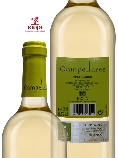 Vino de Rioja Campellares Blanco